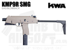KWA KMP9R Gas Blowback MP9 SMG - Railed - Tan