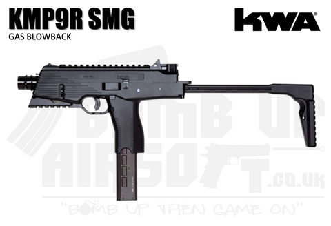 KWA KMP9R Gas Blowback MP9 SMG - Railed