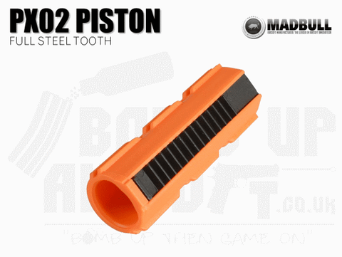 Madbull Piston PX02 - Full Steel Teeth