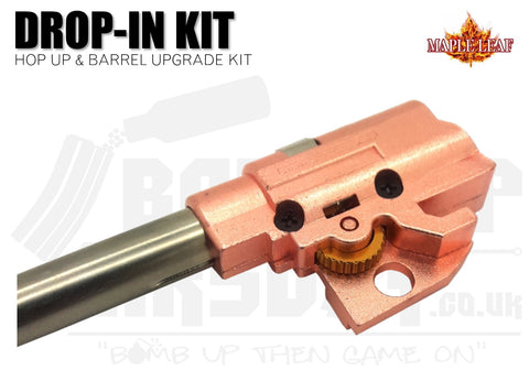 Maple Leaf Hop-Up and Inner Barrel Set for Hi-Capa