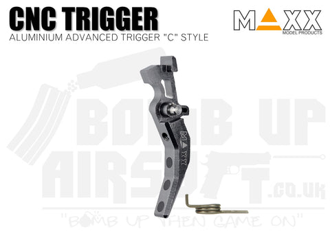 Maxx Model Aluminium Advanced (Style C) CNC Trigger - Titan