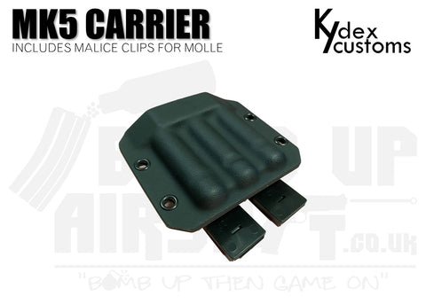 Kydex Customs MK5 Pyro Carrier Holster - Black