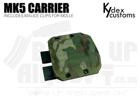 Kydex Customs MK5 Pyro Carrier Holster - Multicam