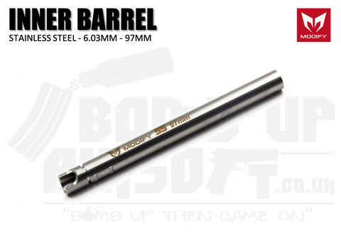 Modify Stainless Steel 6.03mm Precision Barrel - 97mm