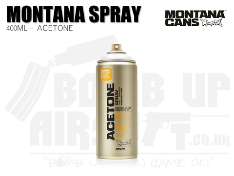 MontanaTech Acetone (Cap Cleaner) - 400ml