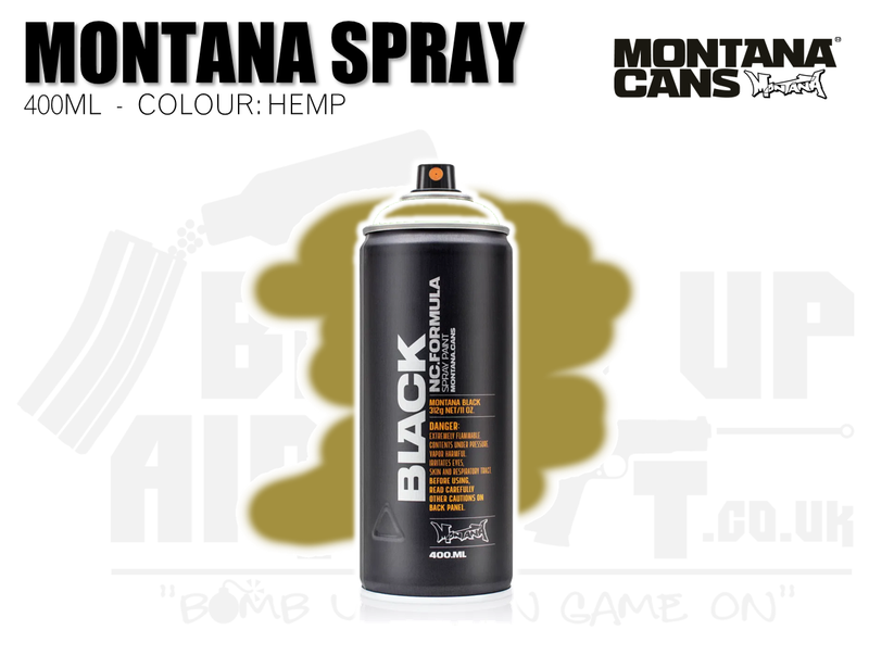 Montana Cans Spray Paint 400ml - HEMP