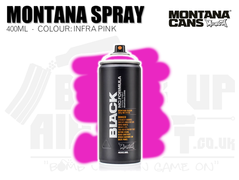 Montana Cans Spray Paint 400ml - INFRA PINK