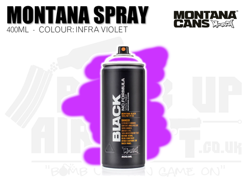 Montana Cans Spray Paint 400ml - INFRA VIOLET