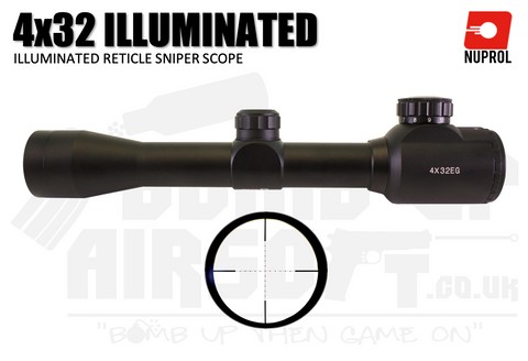 Nuprol NP 4x32 IR Scope - Black