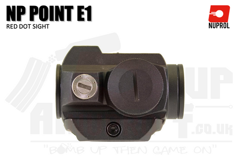 Nuprol NP Point E1 RDS Sight - Black