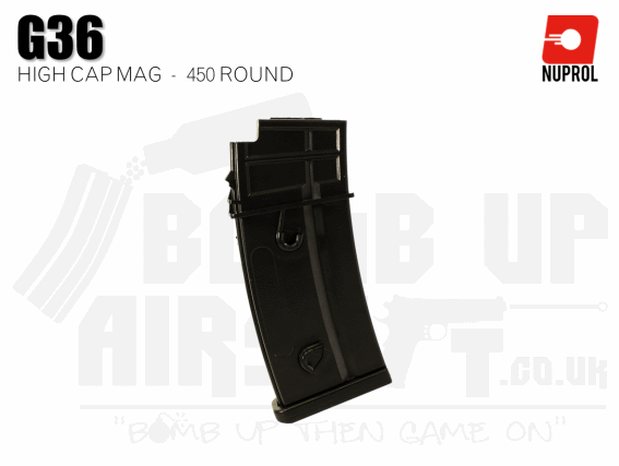 Nuprol G36 High Cap Mag 450 Rounds
