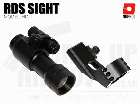Nuprol NP Point HD-1 RDS Sight - Black