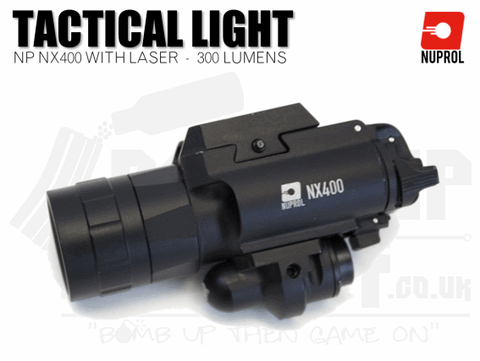 Nuprol NX400 Torch and Laser