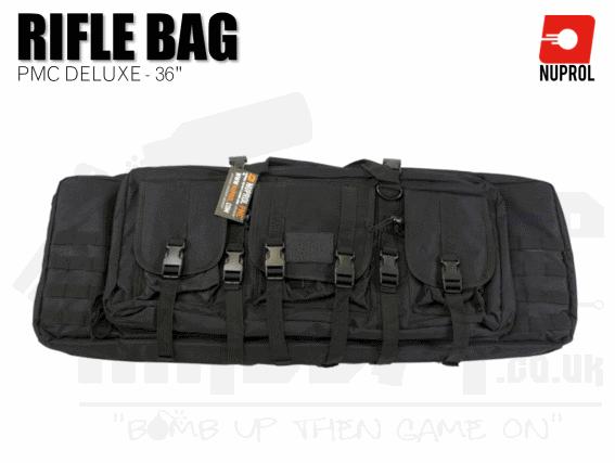 Nuprol PMC Deluxe Soft Rifle Bag - Black 36""