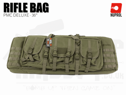 Nuprol PMC Deluxe Soft Rifle Bag - Green 36""