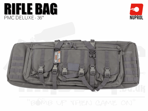Nuprol PMC Deluxe Soft Rifle Bag - Grey 36""