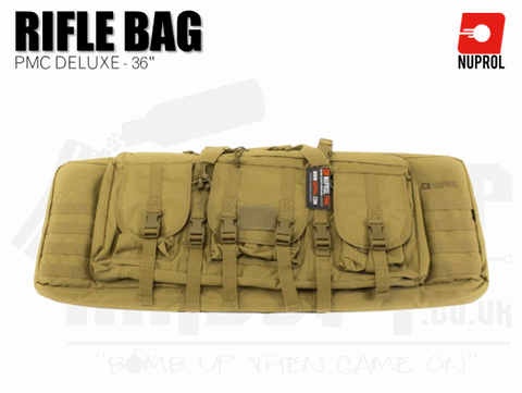 Nuprol PMC Deluxe Soft Rifle Bag - Tan 36""
