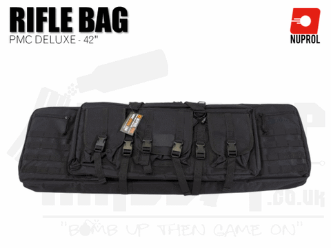 Nuprol PMC Deluxe Soft Rifle Bag - Black 42""