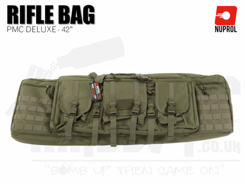 Nuprol PMC Deluxe Soft Rifle Bag - Green 42""