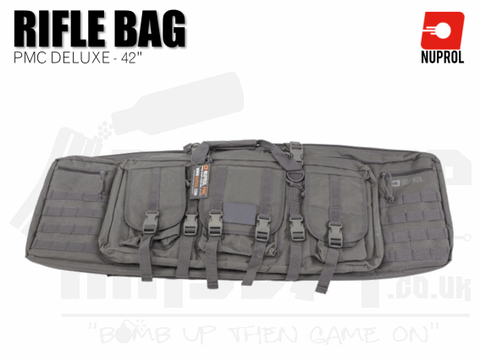 Nuprol PMC Deluxe Soft Rifle Bag - Grey 42""