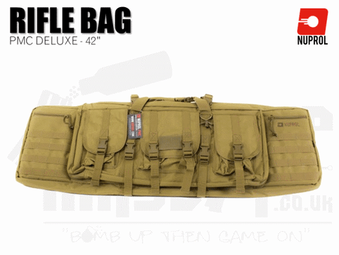 Nuprol PMC Deluxe Soft Rifle Bag - Tan 42""