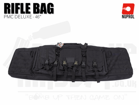 Nuprol PMC Deluxe Soft Rifle Bag - Black 46""