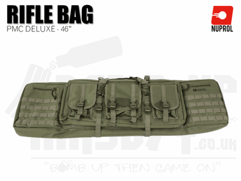 Nuprol PMC Deluxe Soft Rifle Bag - Green 46""