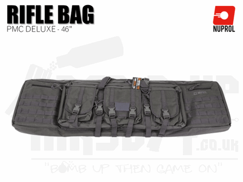 Nuprol PMC Deluxe Soft Rifle Bag - Grey 46""