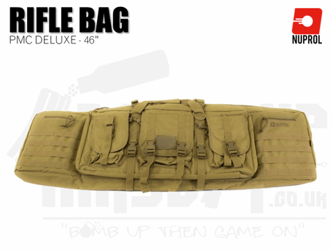 Nuprol PMC Deluxe Soft Rifle Bag - Tan 46""