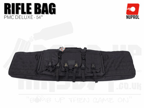 Nuprol PMC Deluxe Soft Rifle Bag - Black 54""