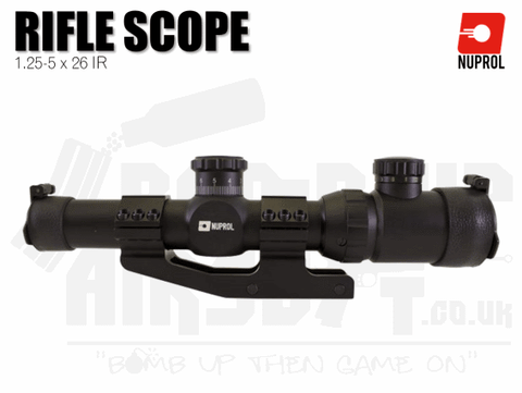 Nuprol ZR10 1.25-5x26 IR Scope