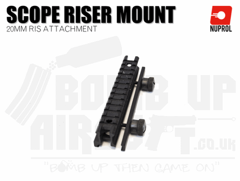 Nuprol RIS Scope Riser Mount