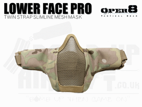 Oper8 Mesh Face Mask - Twin Strap - MTP