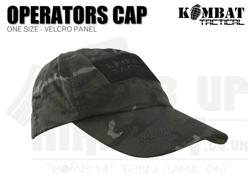 Kombat UK Operators Cap - BTP Black