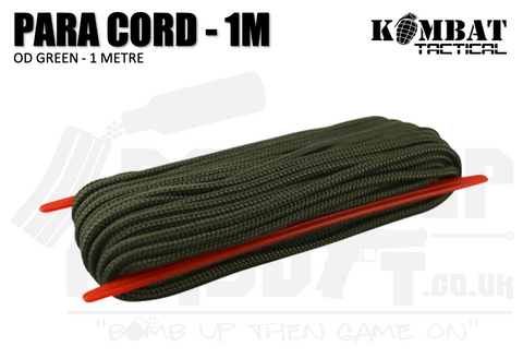 Paracord - 1 Metre - OD Green