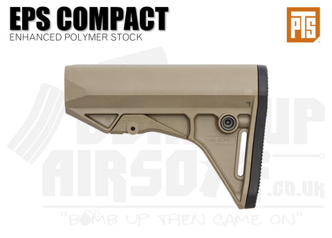 PTS Enhanced Polymer Stock - Compact - Tan