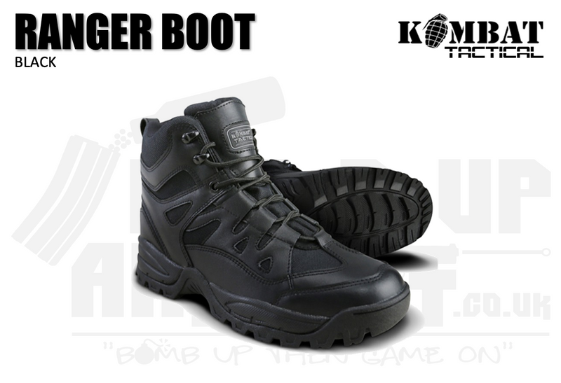 Kombat UK Ranger Boots - Black