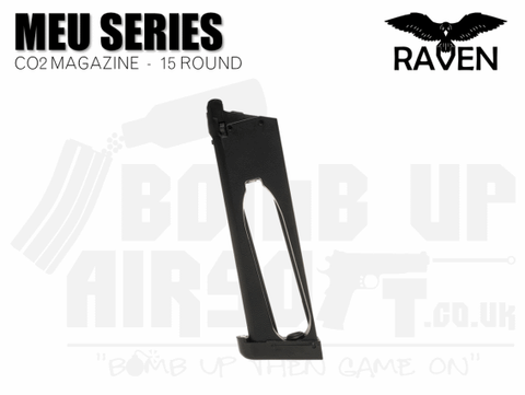 Raven 1911/MEU Series 15 Round Co2 Mag