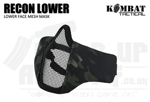 Kombat UK Recon Face Mask - BTP Black