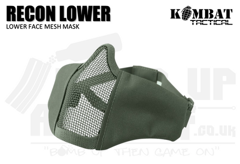 Kombat UK Recon Face Mask - OD Green