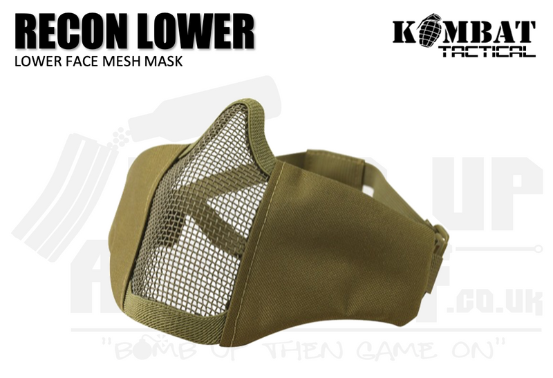 Kombat UK Recon Face Mask - Tan