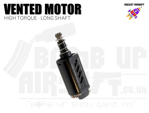 Rocket (SHS) Vented High Torque Motor -  Long Shaft