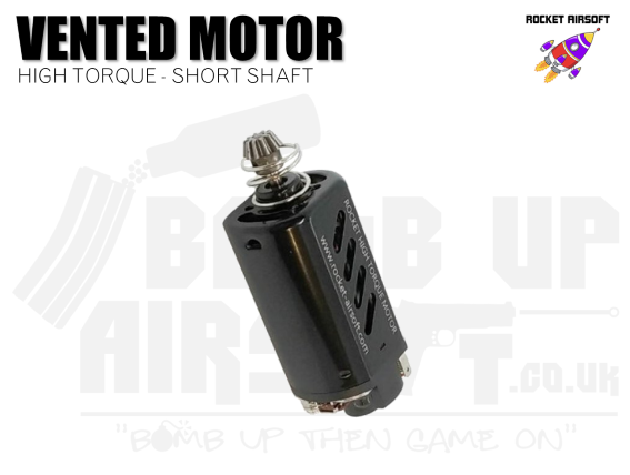 Rocket (SHS) Vented High Torque Motor -  Short Shaft