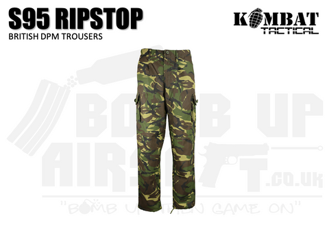 Kombat UK S95 Ripstop Trousers - DPM