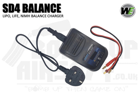 WE Airsoft LiPo/LiFe/NiMH Balance Charger