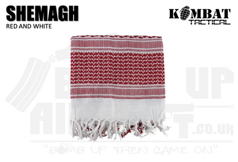 Kombat UK Shemagh - Red and White
