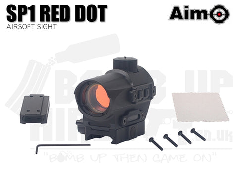 Aim-O SP1 Red Dot Sight - Black
