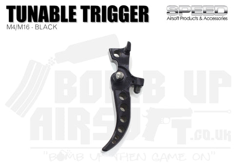 Speed M4/M16 AEG Tunable Trigger - Black