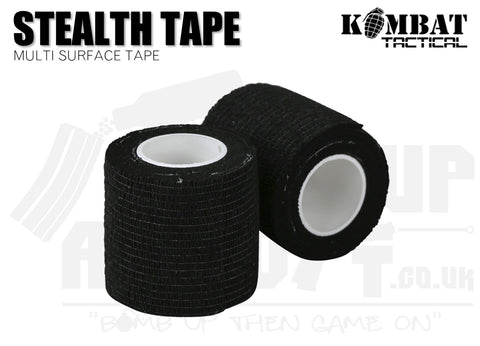 Kombat UK Stealth Tape - Black