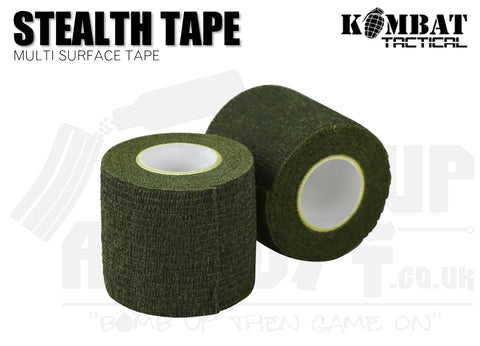 Kombat UK Stealth Tape - OD Green